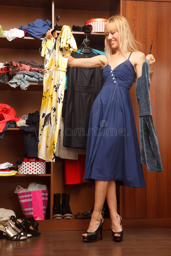 Download Trying To Choose Royalty Free Stock Photo - Image: 28213755