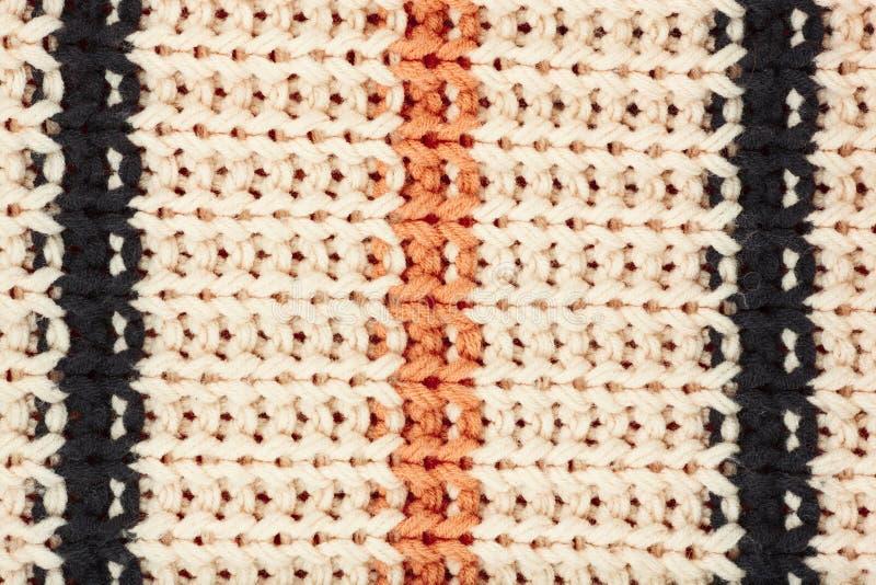 Trykotowa tkanina textured tło obraz stock