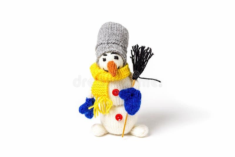 Trykotowe handmade zabawki Amigurumi Ręcznie Robiony Dzianina Handmade zdjęcie royalty free