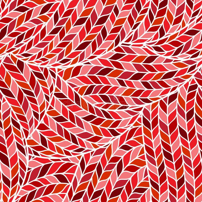 Trykotowego Doodle Bezszwowy Kolorowy Ornamentacyjny wzór royalty ilustracja