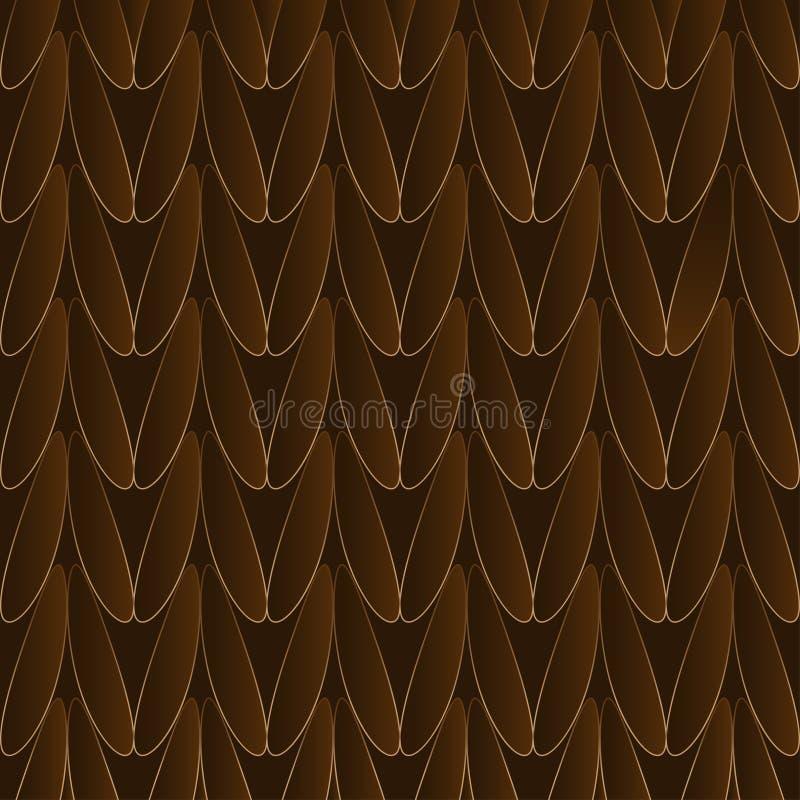 Trykotowy wełna wektoru tło ilustracja wektor
