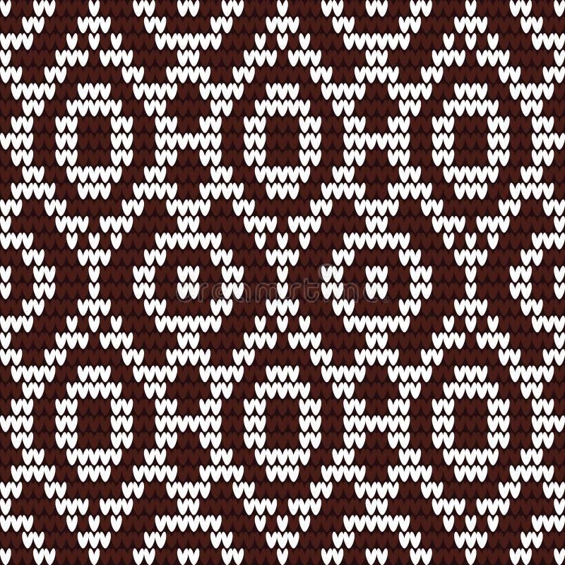 trykotowy wzór ilustracja wektor