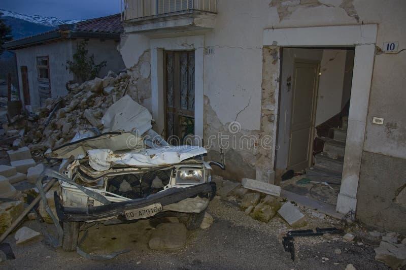 trzęsienie ziemi zdjęcia stock