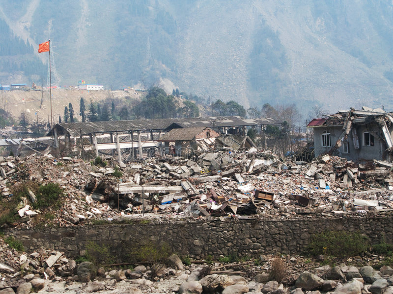 trzęsienie ziemi obrazy stock