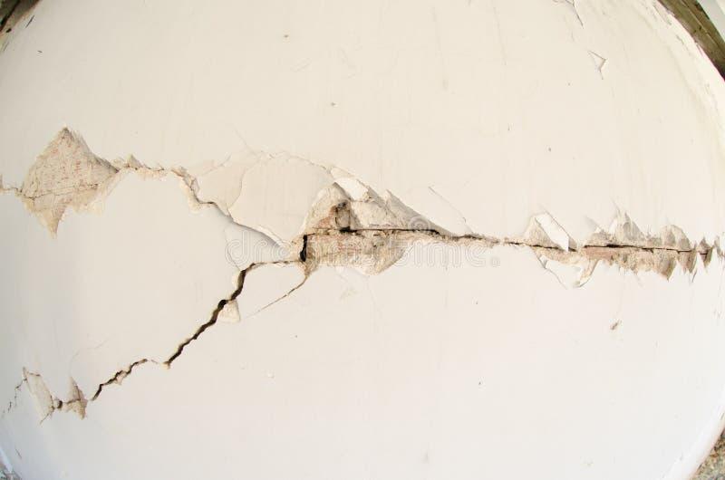 Trzęsienie ziemi szkoda obrazy stock