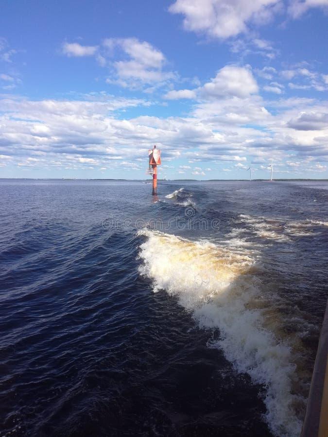 trzasków ciężkiego morza fala zdjęcia stock