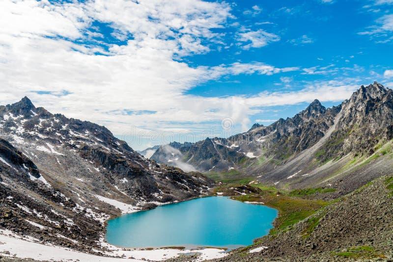 Trzcinowy jezioro zdjęcie royalty free