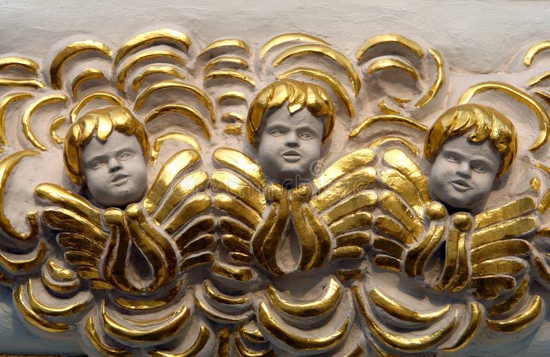 trzech aniołów obraz stock