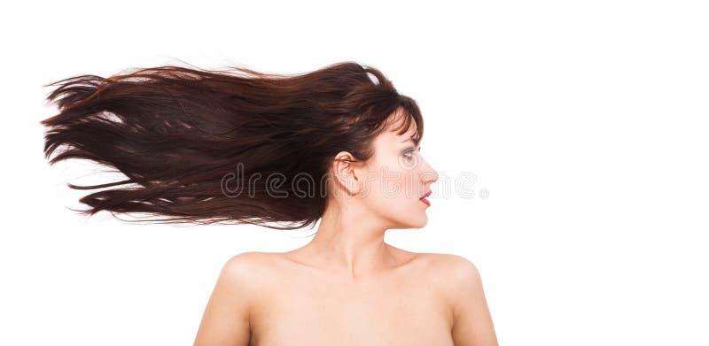 trzepotliwy włosy obrazy royalty free