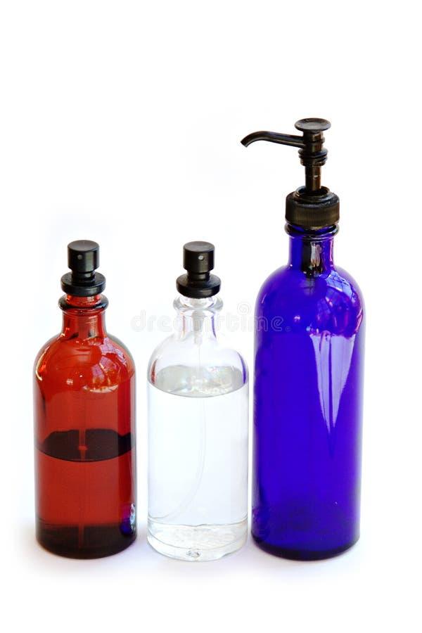 trzy butelki obrazy royalty free