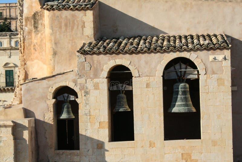trzy dzwonki zdjęcie stock