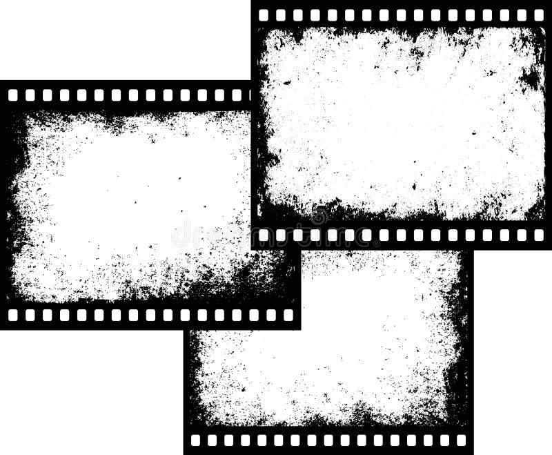 Trzy ekranowej ramy royalty ilustracja