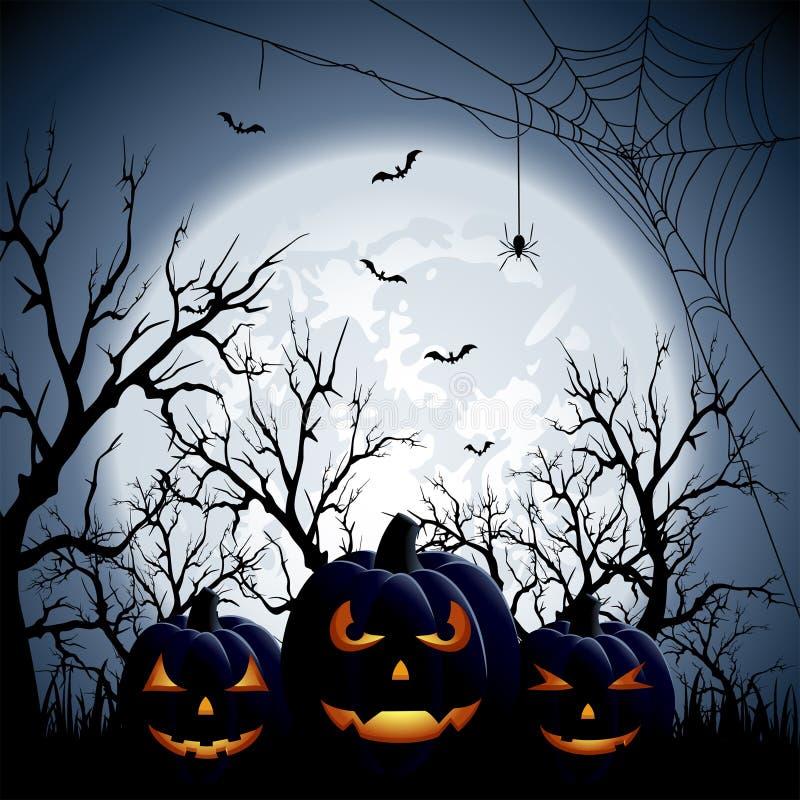 Trzy Halloween bani ilustracji