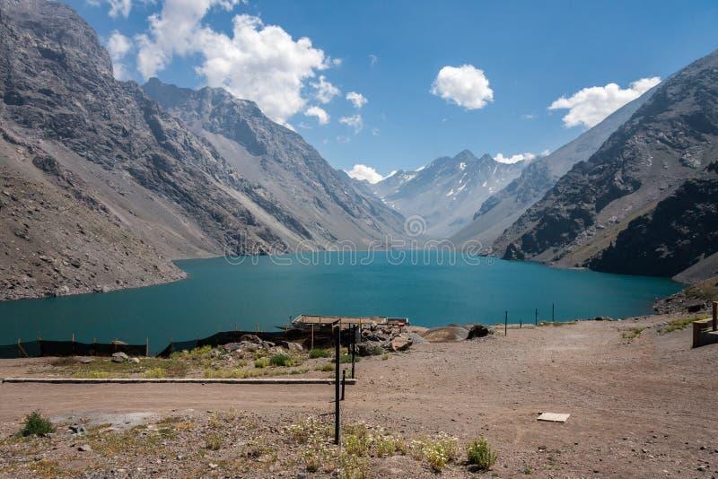 Trzy Inka jeziora Chile i zdjęcie royalty free