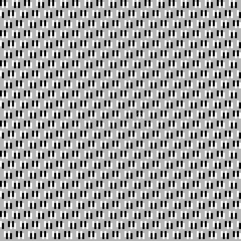 Trzy kolorów Geomatric powtórki wzoru abstrakcjonistyczny komputer wytwarzający wizerunek i tapetowy projekt ilustracji