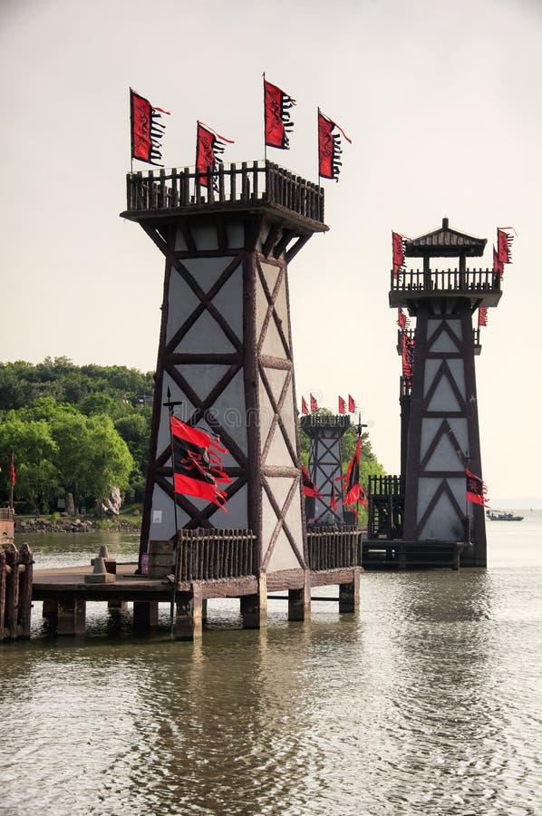 Trzy królestw sceniczny teren Wuxi obrazy royalty free