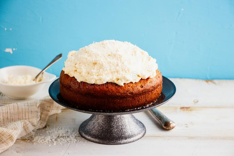 Trzy mleka tort zdjęcie stock