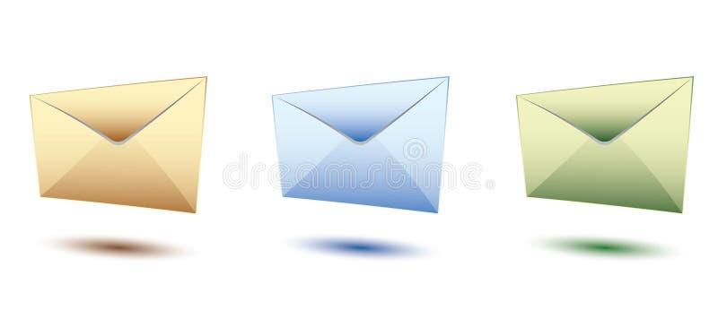 trzy obwiedni royalty ilustracja