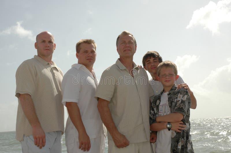 trzy pokolenia zdjęcie royalty free