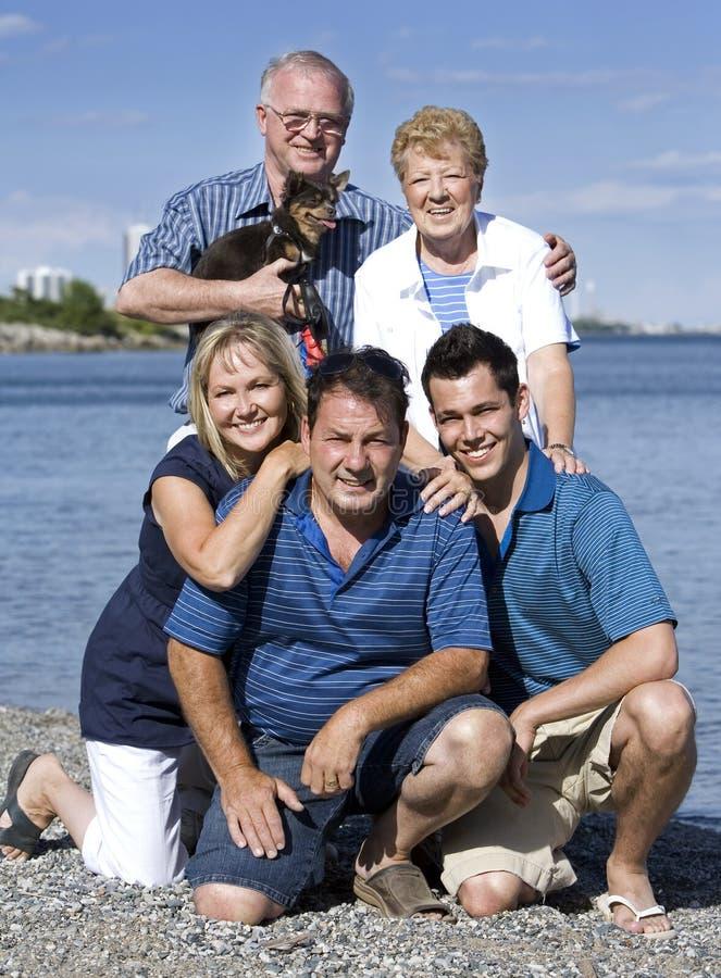 trzy pokolenia zdjęcie stock