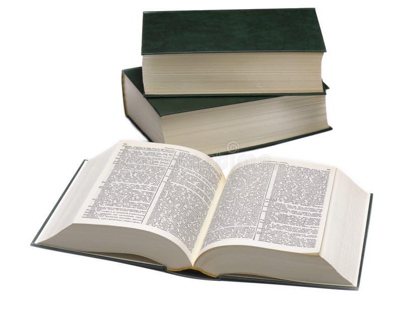 Download Trzy słownik obraz stock. Obraz złożonej z folio, strona - 53784959