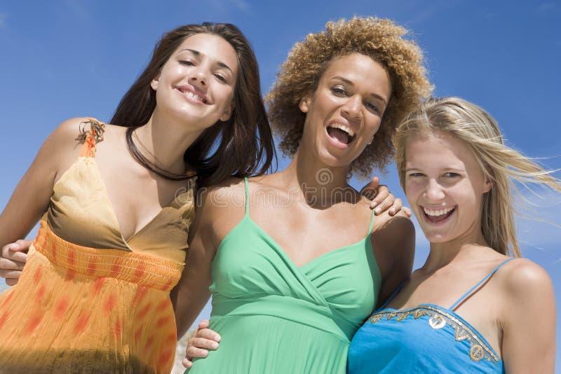trzy samice przyjaciół obrazy stock