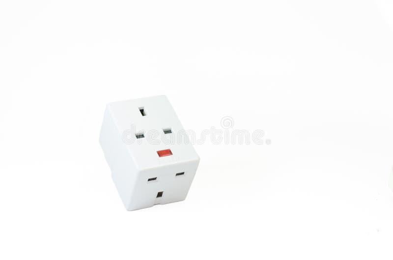 Download Trzy Sposobów Elektryczna Nasadka Zdjęcie Stock - Obraz złożonej z wallah, biały: 53786792
