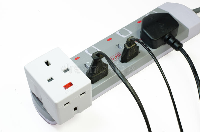 Download Trzy Sposobów Elektryczna Nasadka Zdjęcie Stock - Obraz złożonej z nasadka, british: 53787742