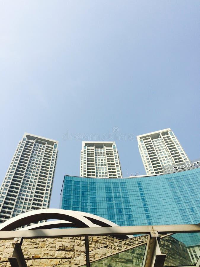 trzy wieże zdjęcie royalty free