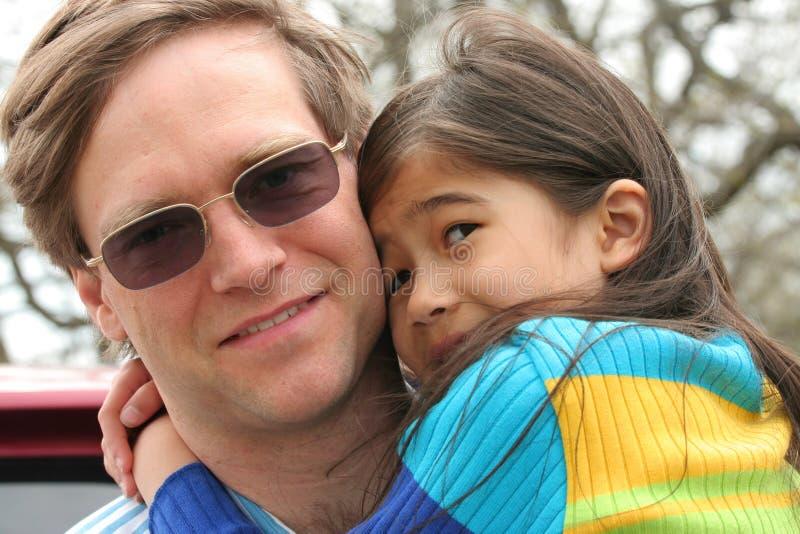 Trzymać mój małej dziewczynki zdjęcia royalty free
