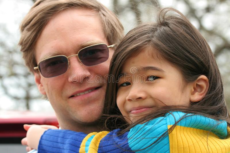 Trzymać mój małej dziewczynki zdjęcie royalty free