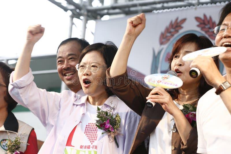 Tsai Ing Wen stock foto
