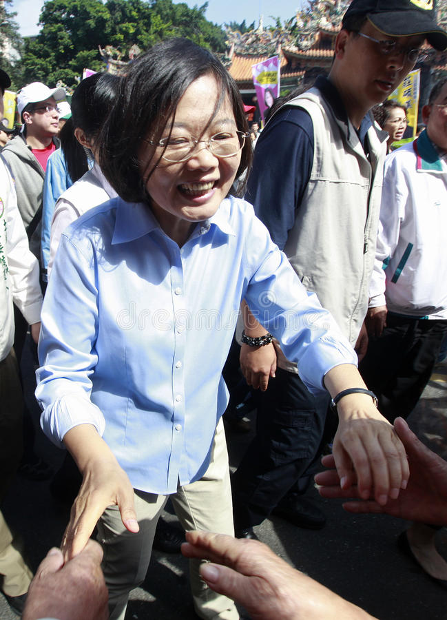 tsai ing wen стоковые фотографии rf