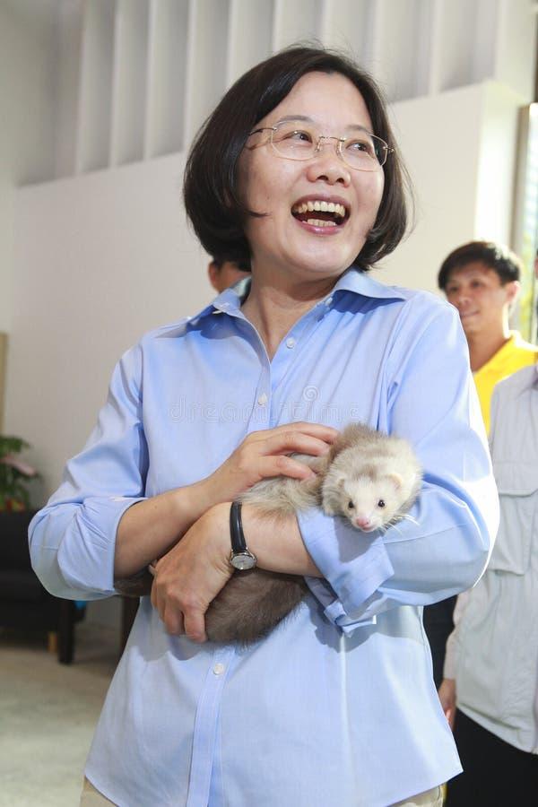 Tsai Ing-Wen stockbild