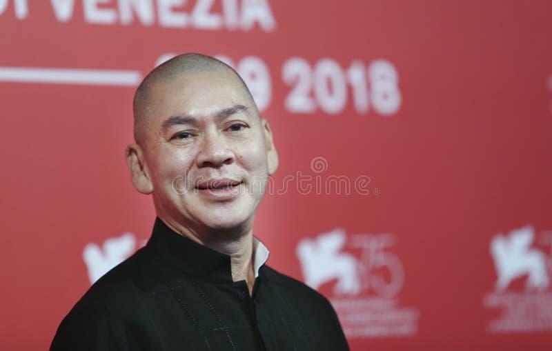 Tsai Ming-liang присутствует на ` Ni De Lian стоковое фото