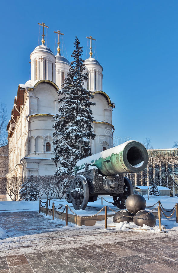 Free Tsar Cannon, Moscow Stock Image - 28847201