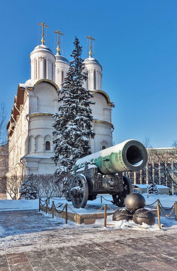 Tsar działo, Moskwa obraz stock