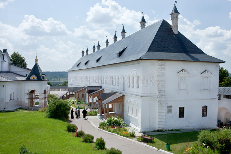 Tsar Palace in Savvino-Storozhevsky Monastery in Zvenigorod stock photography