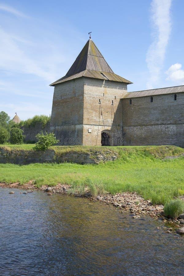 Tsar ` s wierza forteczny Oreshek, letni dzień, Rosja zdjęcie stock