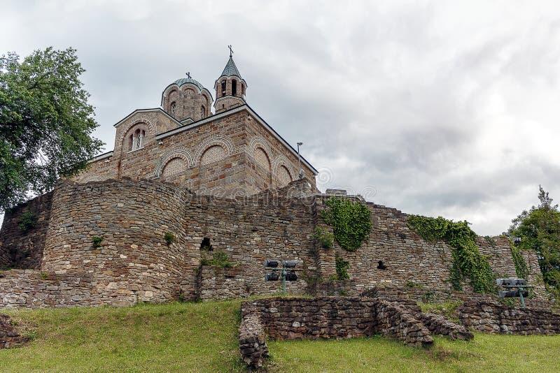 Tsarevets堡垒Tsarevets 免版税库存图片