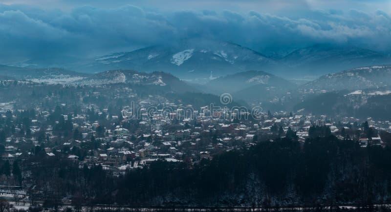 Tsarevets fästning, Veliko Turnovo, Bugaria royaltyfri fotografi