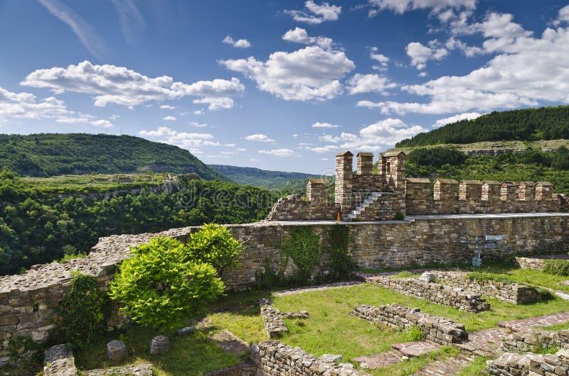 Tsarevets forteca obrazy royalty free