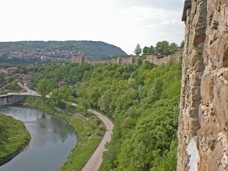 Tsarevets fortress royalty free stock image