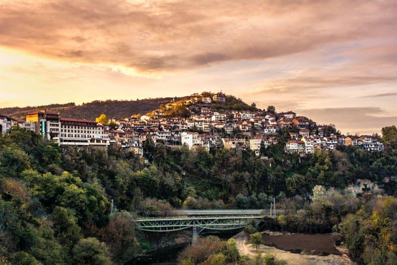 Tsarevets in Veliko Tarnovo stock foto
