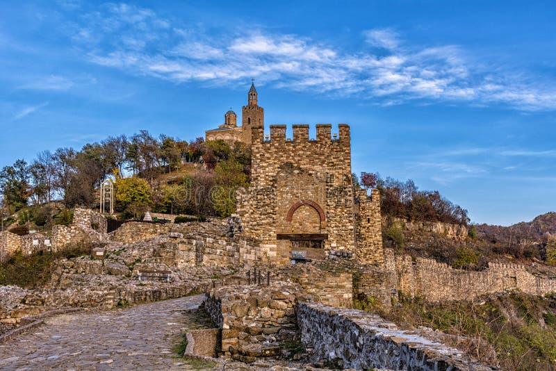Tsarevets in Veliko Tarnovo stock foto's