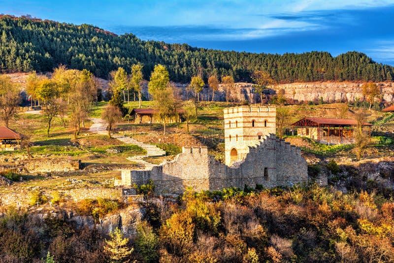 Tsarevets in Veliko Tarnovo stock afbeeldingen