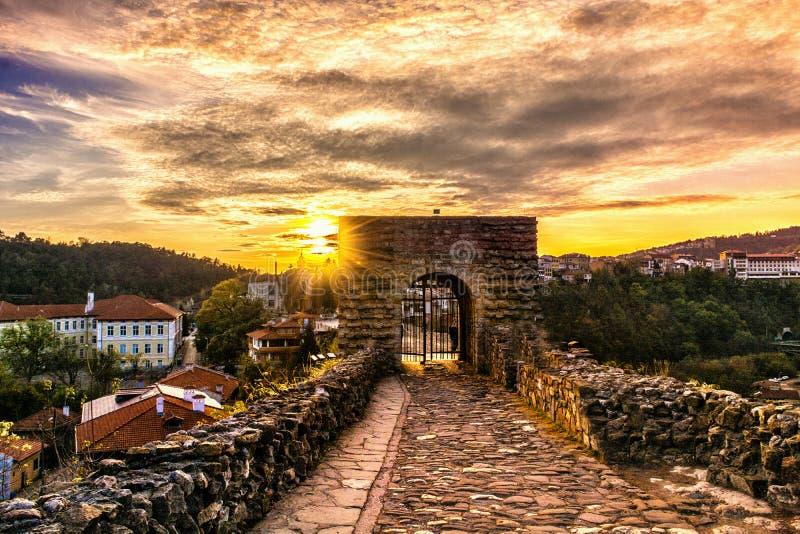 Tsarevets in Veliko Tarnovo royalty-vrije stock afbeeldingen