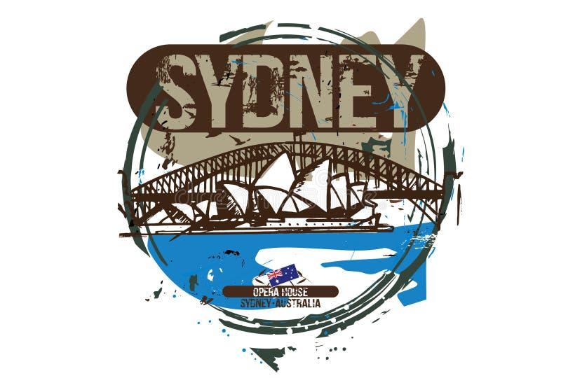 tsaritsino för husmoscow opera Sydney Australien stadsdesign vektor illustrationer