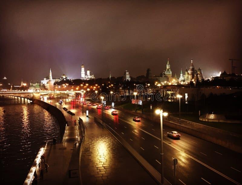 tsaritsyno νύχτας της Μόσχας στοκ φωτογραφίες