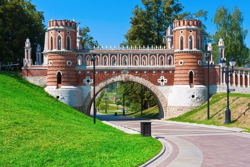 Tsaritsyno στη Μόσχα στοκ φωτογραφίες